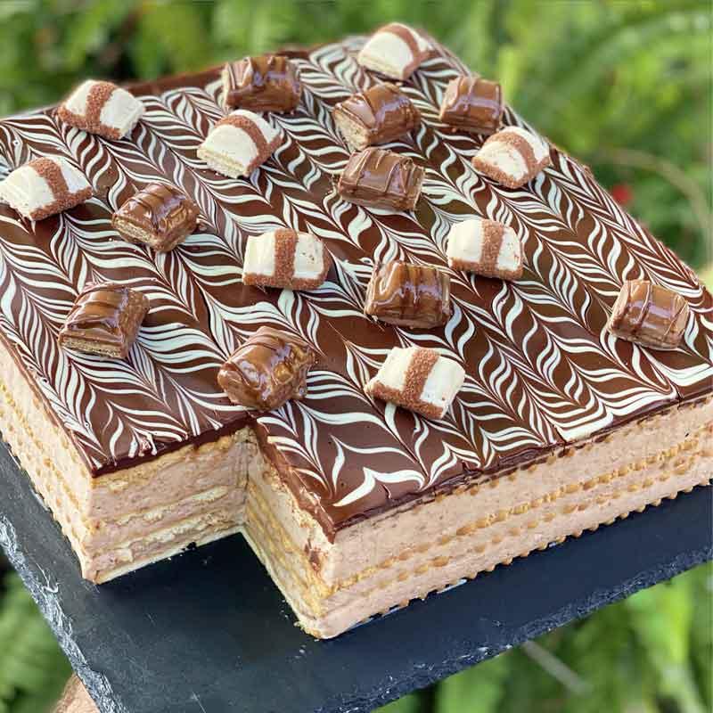 עוגת ביסקוויטים בואנו