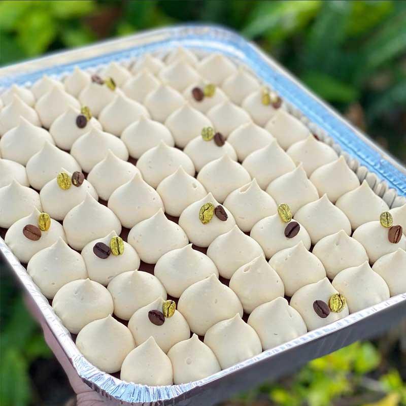 עוגת קפוצ'ינו שוקולד לבן