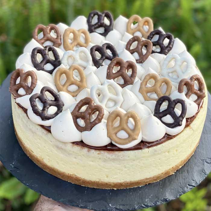 עוגת גבינה שוקולד אפויה