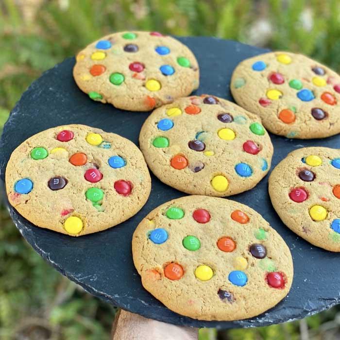 עוגיות M&M