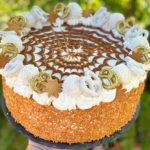 עוגת שכבות ריבת חלב ומסקרפונה